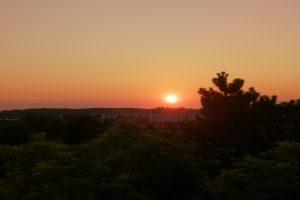 Izlazak Sunca u Petrovaradinu